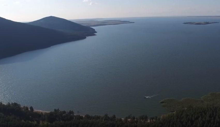 Имантав Озеро, Боровушка, Тасарал остров. Автор- Алексей Николаев