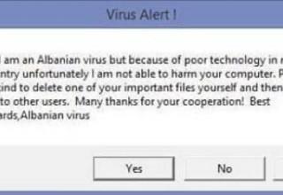 албанский вирус
