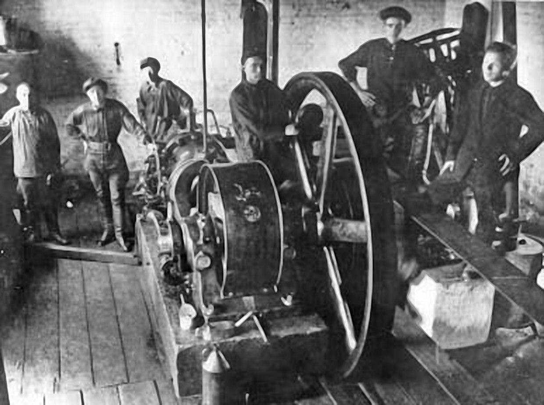 Электростанция 1920