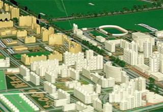 Часть проекта планировки северной части Кокшетау.