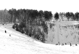 Лыжная база Букпа, Кокшетау. Фото- Акмолинская правда