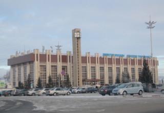 вокзал Кокшетау, зима 2018