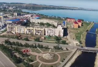 Озеро, Горького, проспект Абылай хана, река