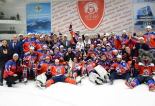 АРЛАН чемпион Казахстана по хоккею