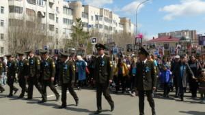 9 мая 2018-P06 (9 мая в Кокшетау. Бессмертный полк)