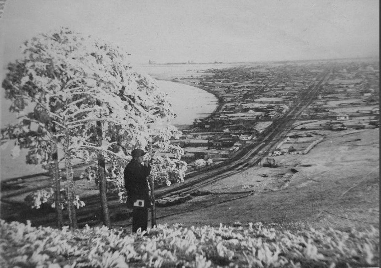 Кокчетав. Вид с сопки. 1936. Фото из коллекции Елены Гусевой(Сосновцевой). Предоставлены Николаем Редченко