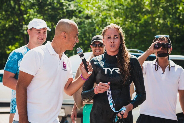 первый в Казахстане массовый заплыв «Burabay Swim 2018»