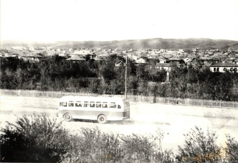 Из истории общественного транспорта города Кокшетау. Ул. Кирова 1966 г