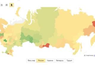 Где живут в России Кокчетавцы