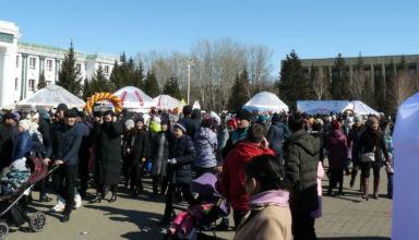 Прогулка по Кокшетау 21 марта 2019