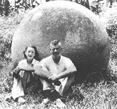 Гигантские каменные шары из Коста-Рики