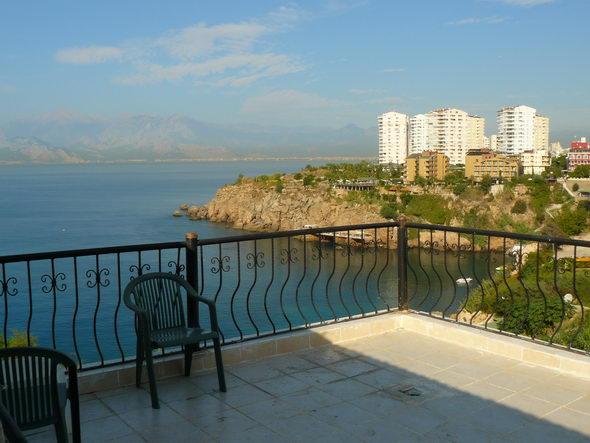 Вид с балкона «Club Hotel Delfin 4*»